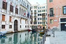 White Building In Venice