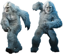 Yeti Or Abominable Snowman 3D ...