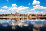 Fototapeta Miasto - Toruń, Polska. Stare Miasto. Wisła