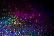 Shiny Multicolor Glitter Raste...