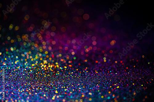 Vászonkép Shiny multicolor glitter raster background