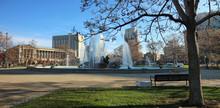 Panoramic View At Logan Circle...