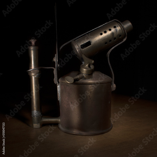 old blowtorch Canvas Print