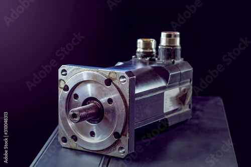 Fotografie, Obraz electric motors (AC servo motor, DC brush-less motor, and stepping motor)