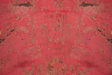 Red Rusty Metal Background For Presentations