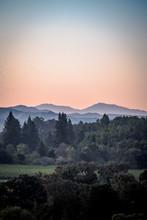 Dawn Sunrise Over California M...