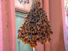 Hanging Bunch Of Dates Drying ...