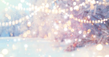 Christmas Blurred Background. ...