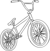 BMX. Children's Bicycle. Eleme...