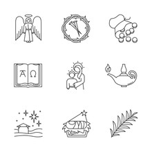 Bible Narratives Linear Icons ...