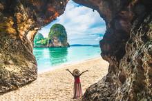 Landscape Of Phra Nang Cave Be...