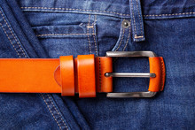 Fashionable Leather Belt And J...