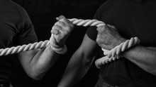Tug Of War. The Concept Of Str...