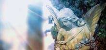 Iimage Of An Angel On A Cemete...