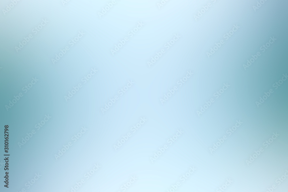 Fototapeta blue light gradient / background smooth blue blurred abstract