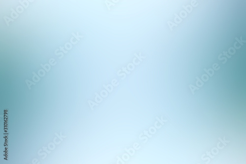 blue light gradient / background smooth blue blurred abstract Wallpaper Mural