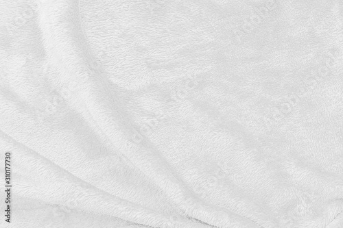 Obraz na plátně White fabric cloth texture for background