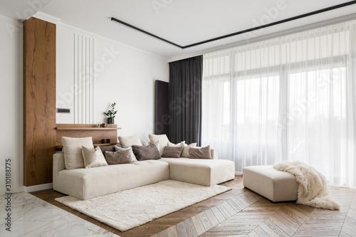Tableau sur Toile Elegant and comfortable living room