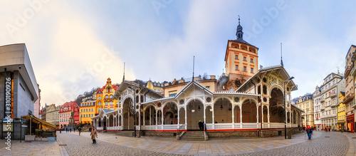 Fototapeta Altstadt von Karlsbad, Tschechien