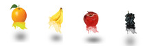 Fruits And Effects And Backgro...