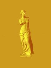 Golden Venus De Milo