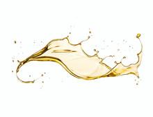 Olive Or Engine Oil Splash Iso...