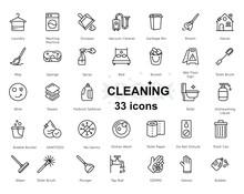 Maid Service Vector Set, Clean...