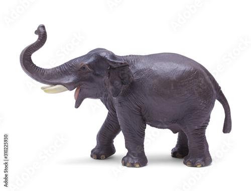 obraz dibond Toy Elephant Side View