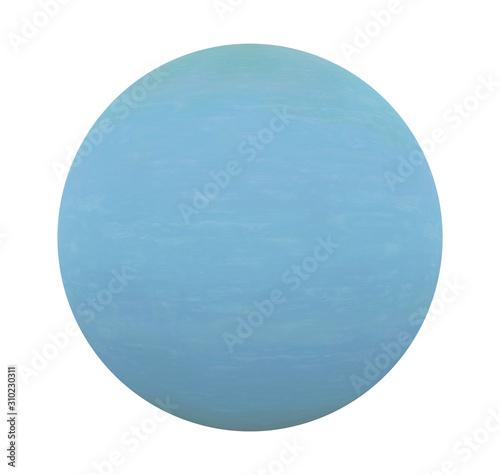 Photo Planet Uranus Isolated