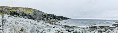 Fotografiet coast of sea in ireland burren
