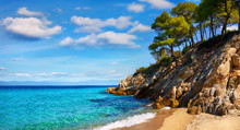 Paradise Beach Greece Sithonia...