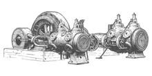 Stationary Steam Engine