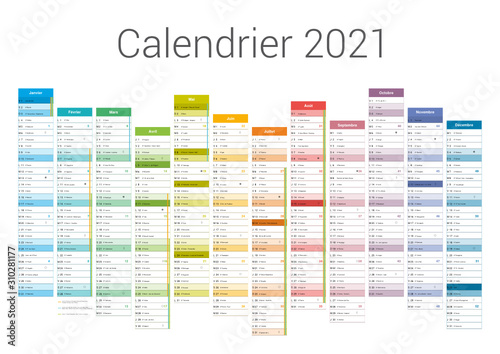 Calendrier 12 Mois 2021 Format A3   Calendrier 2021 pour entreprise avec logo sur 12 mois