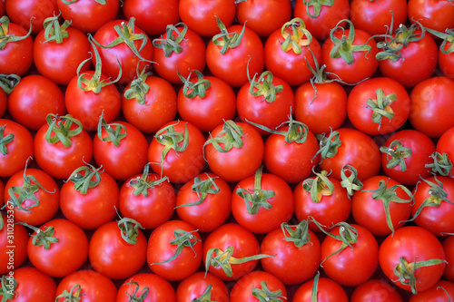 fresh red tomatoes for food texture