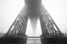 Fog. George Washington Bridge ...