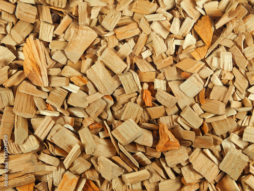 Natural texture of wood chips for smoking or gardening Canvas-taulu