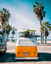 Venice Beach Surf Van, Los Ang...