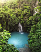 Kawasan Falls, Cebu, The Phil...