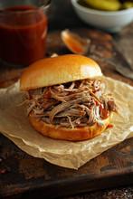 Pulled Pork Sandwich With Brio...