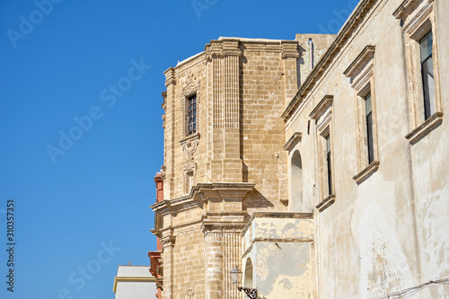 Chiesa Di Santa Maria Degli Angeli (Church Of Saint Mary's Angel) a At Gallipoli Canvas-taulu