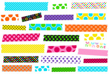 Collection Of Polka Dot Washi ...