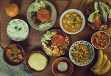 Ghanaian Assorted  Cuisine