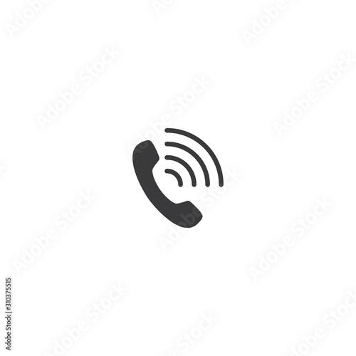 Telephone icon Canvas-taulu