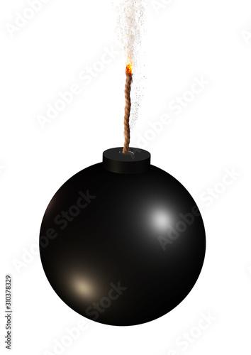 Fotografia, Obraz 導火線に火が付いた爆弾
