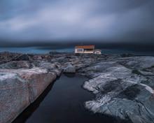 House On Rocky Coast