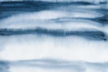 Abstract Indigo Blue Watercolor Background, Watercolor Texture