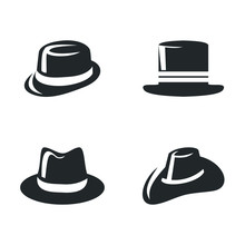 Top Hat Icon Template Color Ed...
