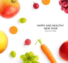 Creative Happy And Healthy New...