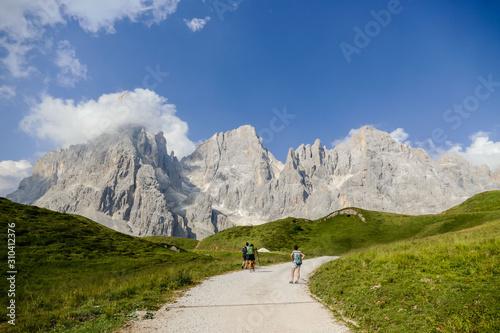 National Park Tre Cime di Lavaredo Dolomiti Canvas Print