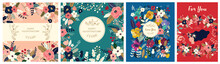 Floral Collection Of Cards, In...